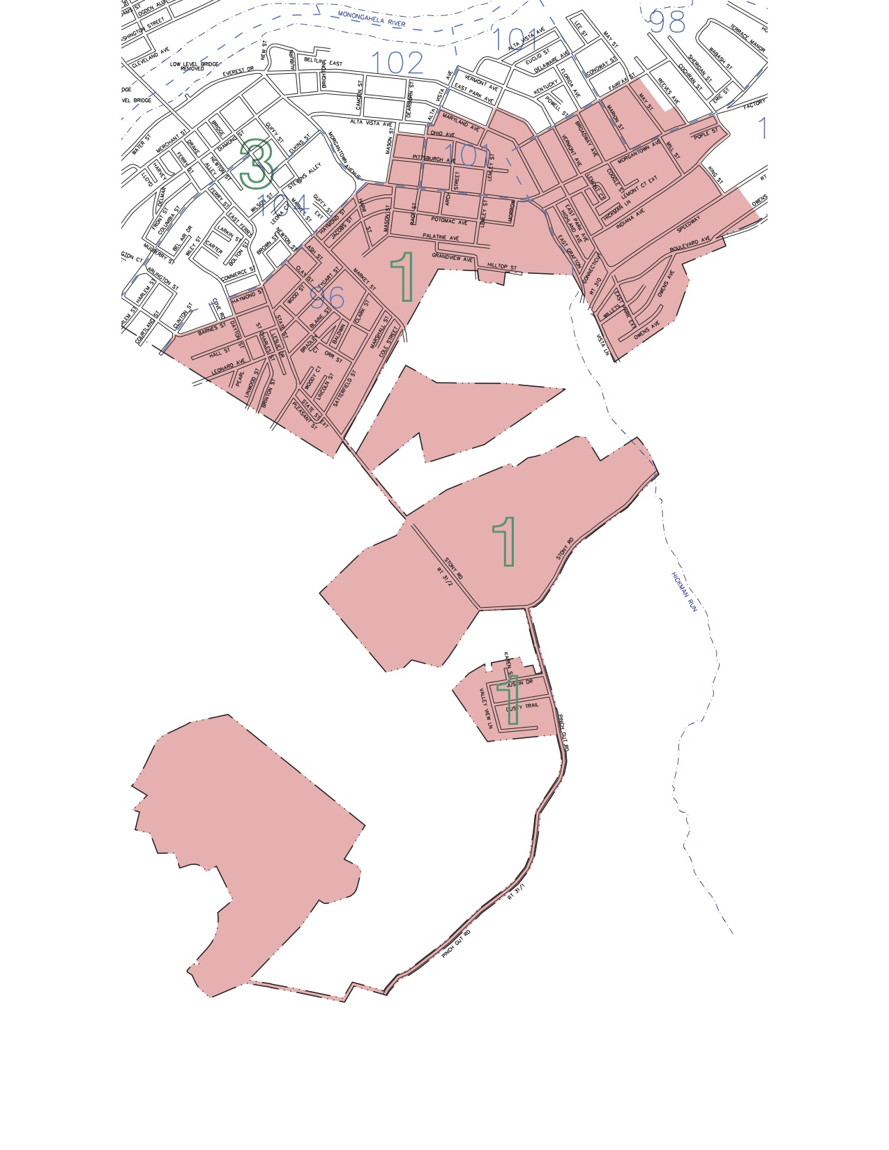 City Council District 1 Map