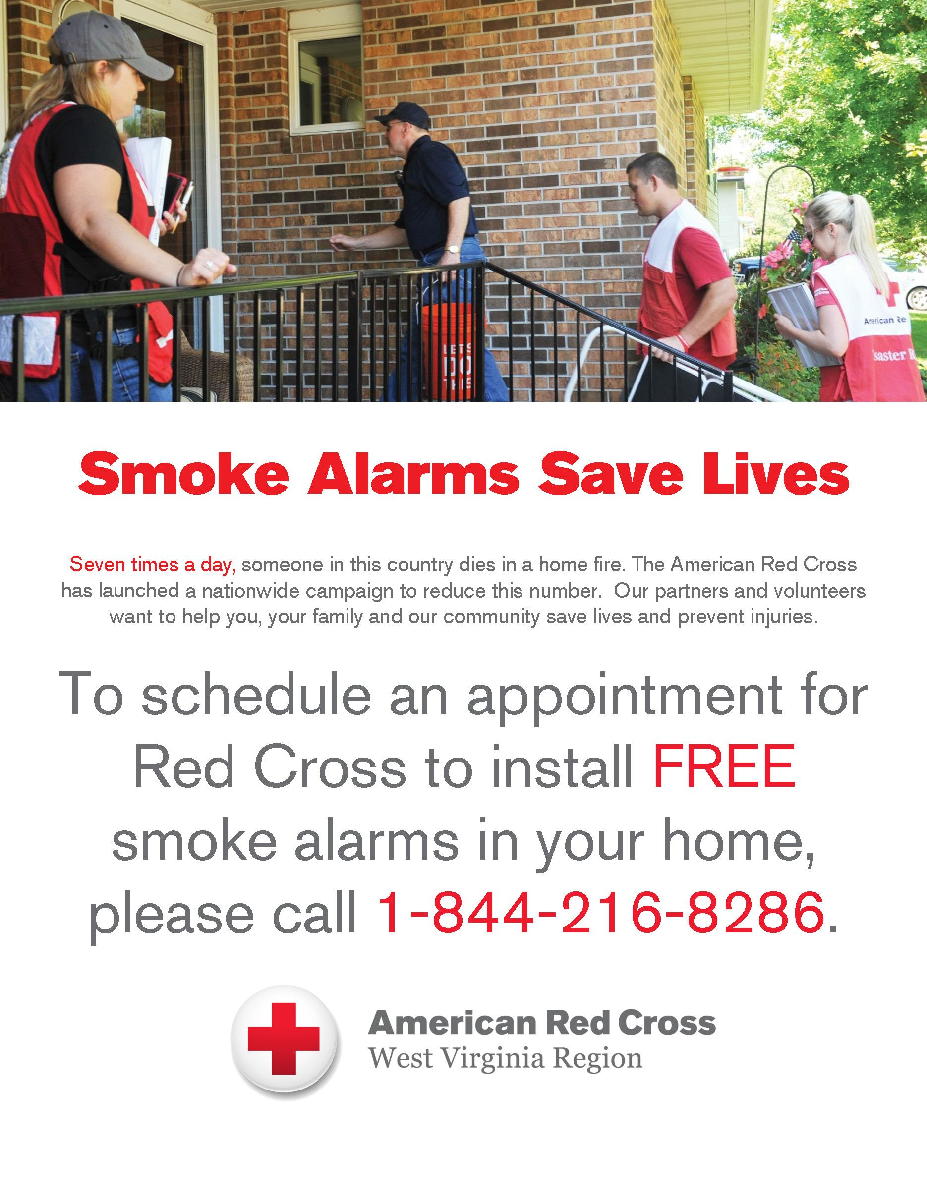 American Red Cross Smoke Detector
